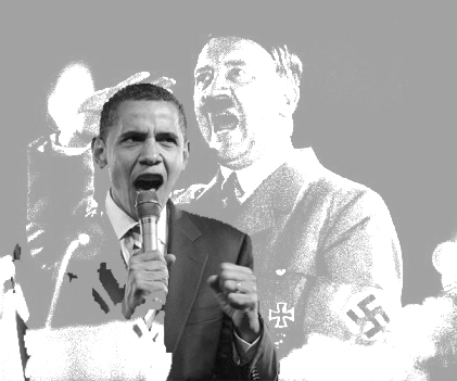 Adolf Hitler & Barack Obama
